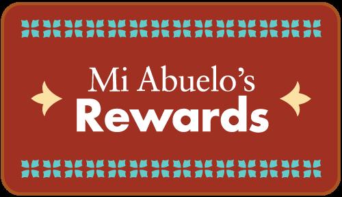 Mi Abuelo's Rewards Card